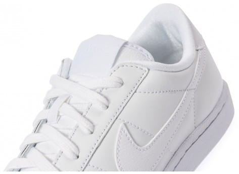 Chaussures Nike Tennis Classic blanche vue dessus