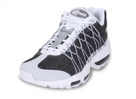 chaussures homme sport asics - Nike AIR MAX 95 ULTRA JACQUARD BLANC GRIS - Chaussures Homme ...