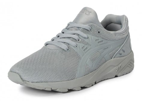 Chaussures Asics Gel Kayano Trainer Evo grise vue avant