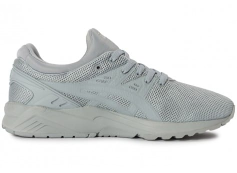 Chaussures Asics Gel Kayano Trainer Evo grise vue dessous