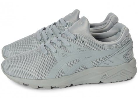 Chaussures Asics Gel Kayano Trainer Evo grise vue extérieure