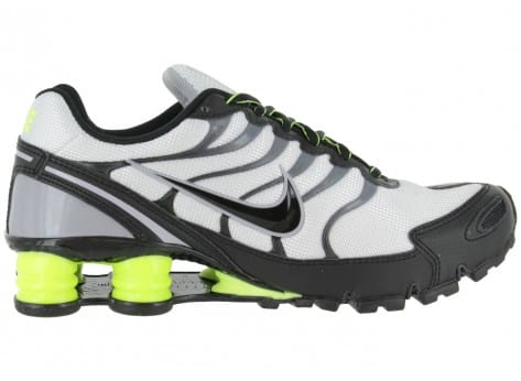 Chaussures Nike SHOX TURBO VI BLANCHE vue intérieure