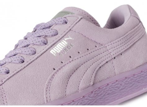 Chaussures Puma Suede Classic Mono Iced violet vue dessus