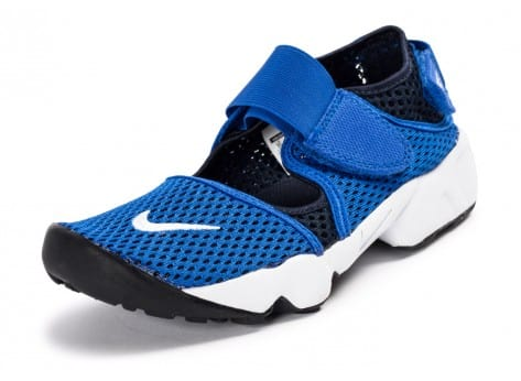Chaussures Nike Rift Breathe Junior bleue vue avant