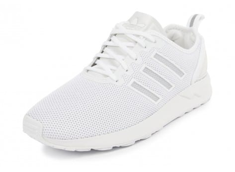 Chaussures adidas Zx Flux ADV Racer blanche vue avant