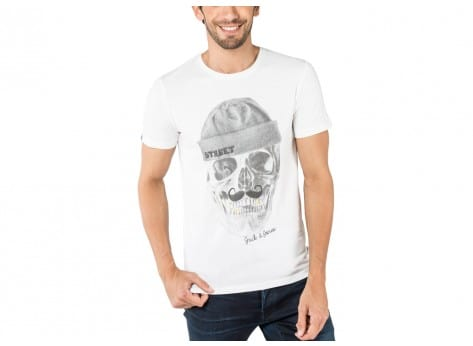 Tee-shirt Jack & Jones T-Shirt School blanc