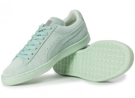 Chaussures Puma Suede Classic Mono Iced mint vue intérieure