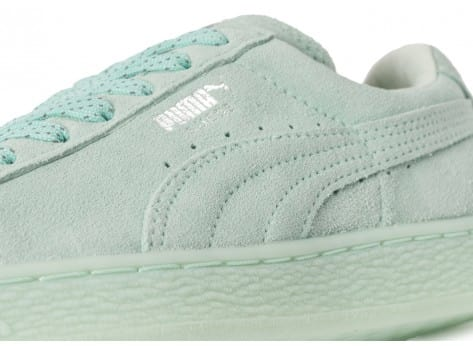 Chaussures Puma Suede Classic Mono Iced mint vue dessus