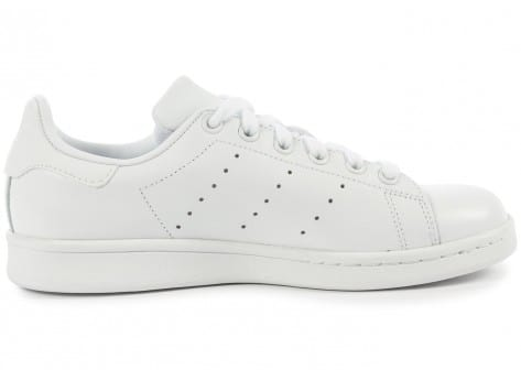 Chaussures adidas Stan Smith Triple Blanc vue dessous
