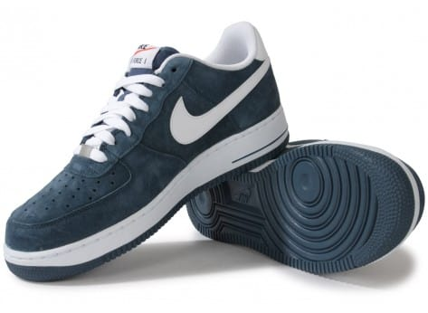 Suede Bleue 1 Force chaussures Air Slate Nike UVGqSMpLz