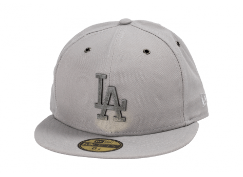 Casquettes New Era Casquette Los Angeles Metal grise
