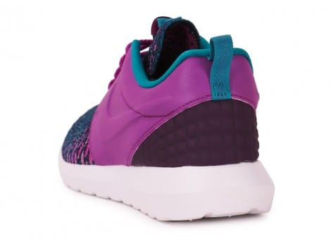 Chaussures Nike Roshe NM Flyknit violet vue arrière