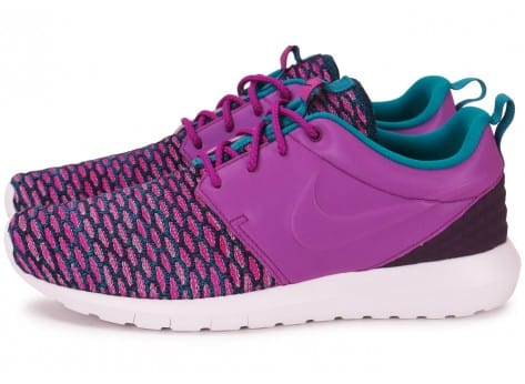 Chaussures Nike Roshe NM Flyknit violet vue extérieure