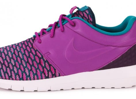 Chaussures Nike Roshe NM Flyknit violet vue dessus