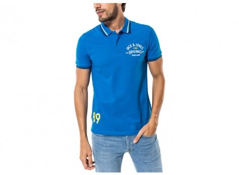Polo Jack & Jones Polo Athletic bleu