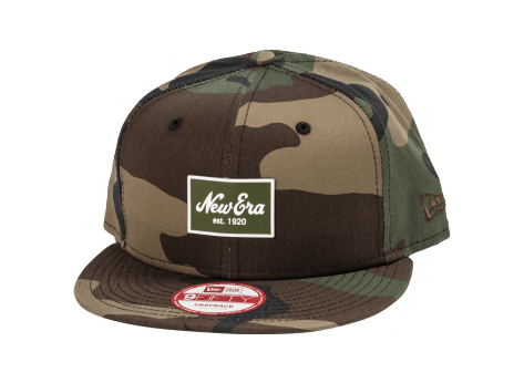 Casquettes New Era Casquette Snapback Patch camo