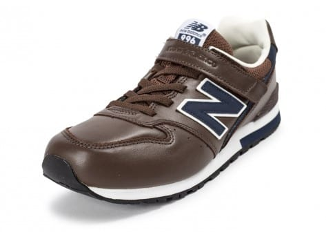 Chaussures New Balance KW996 BNR Junior marron vue avant