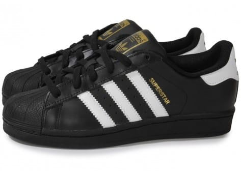 basket adidas superstar noir junior