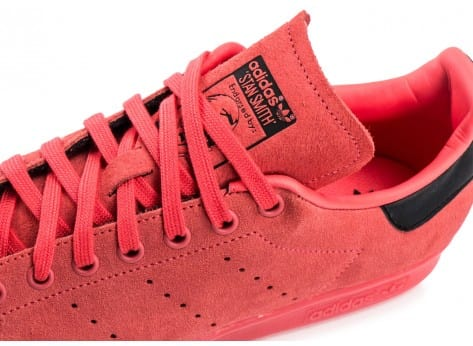 Chaussures adidas Stan Smith Suede Shored vue dessus