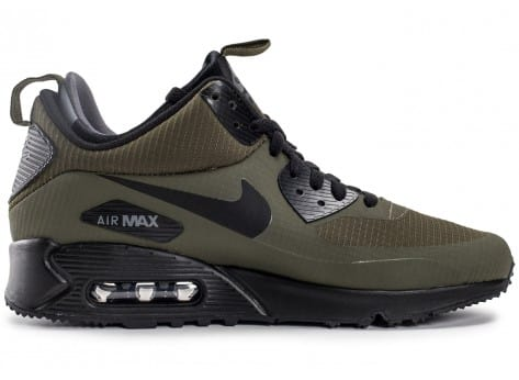 Chaussures Nike Air Max 90 Mid Winter Green vue dessous