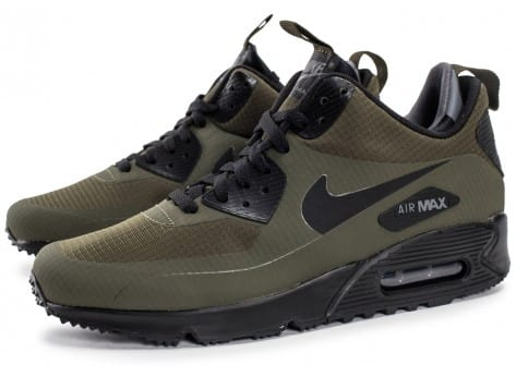 Chaussures Nike Air Max 90 Mid Winter Green vue extérieure