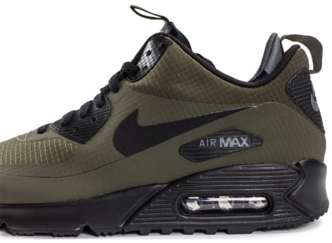 Chaussures Nike Air Max 90 Mid Winter Green vue dessus