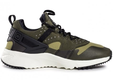 Chaussures Nike Air Huarache Utility Olive vue dessous