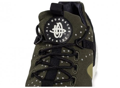 Chaussures Nike Air Huarache Utility Olive vue dessus