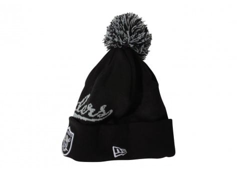 Bonnets New Era BONNET BOBBLE NOIR