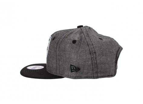 Casquettes New Era Casquette Snapback NY Chambray Enfant noire