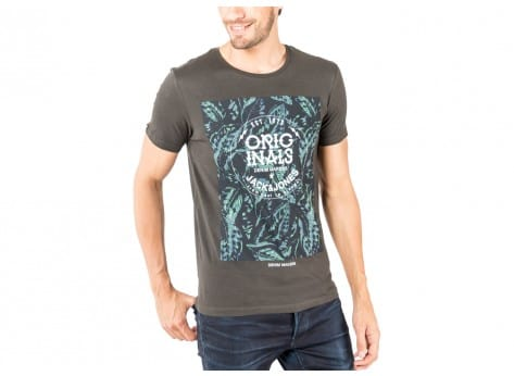 Tee-shirt Jack & Jones T-Shirt Lack noir