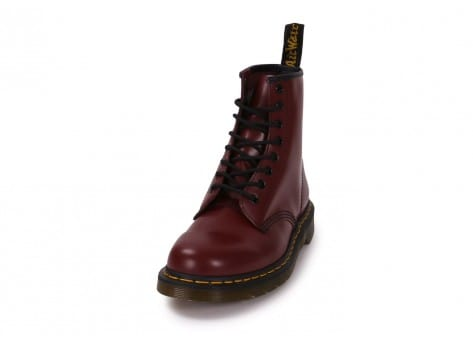 Chaussures Dr Martens 1460 cherry red vue avant