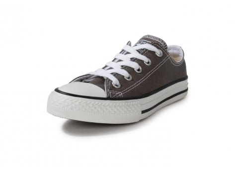 Chaussures Converse Chuck Taylor All Star low enfant grise vue avant