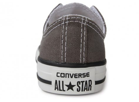 Chaussures Converse Chuck Taylor All Star low enfant grise vue dessus