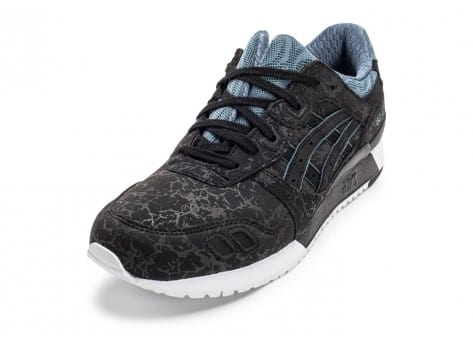 Chaussures Asics Gel Lyte III Galaxy Pack noire vue arrière
