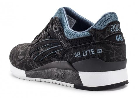 Chaussures Asics Gel Lyte III Galaxy Pack noire vue avant