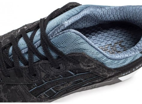 Chaussures Asics Gel Lyte III Galaxy Pack noire vue dessus