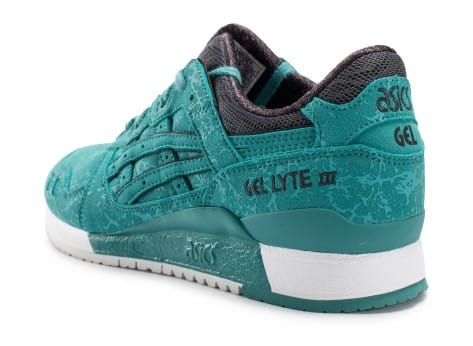 Chaussures Asics Gel Lyte III Galaxy Pack bleue vue arrière