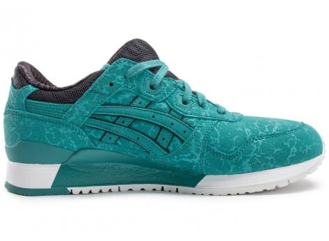 Chaussures Asics Gel Lyte III Galaxy Pack bleue vue dessous