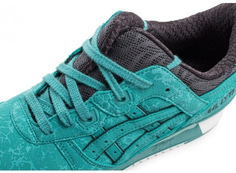 Chaussures Asics Gel Lyte III Galaxy Pack bleue vue dessus