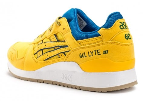 Chaussures Asics Gel Lyte III Rio Pack jaune vue arrière