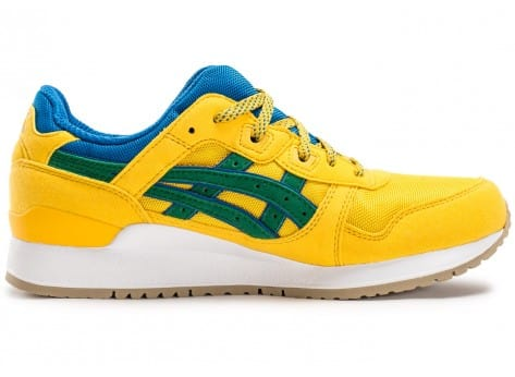 Chaussures Asics Gel Lyte III Rio Pack jaune vue dessous