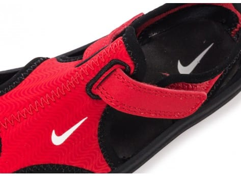 Chaussures Nike Sunray Protect Bébé rouge vue dessus