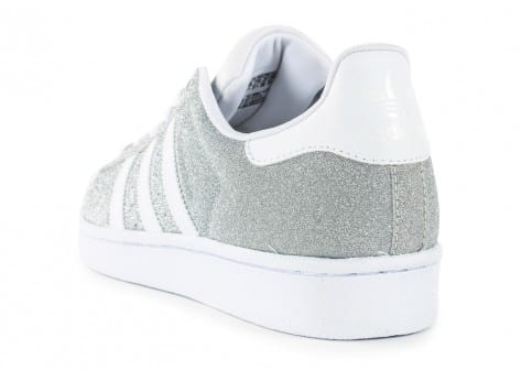 adidas superstar paillette argenté