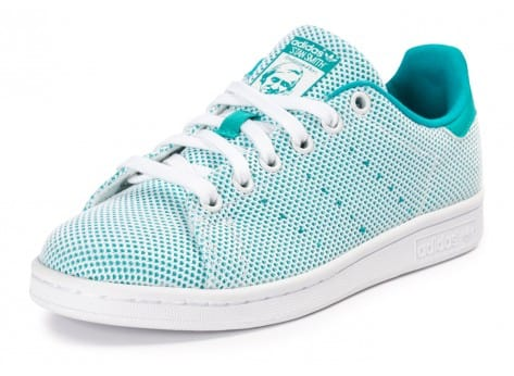 Chaussures adidas Stan Smith Adicolor Summer turquoise vue avant