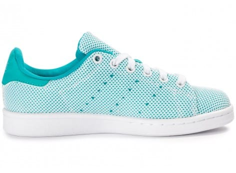 Chaussures adidas Stan Smith Adicolor Summer turquoise vue dessous