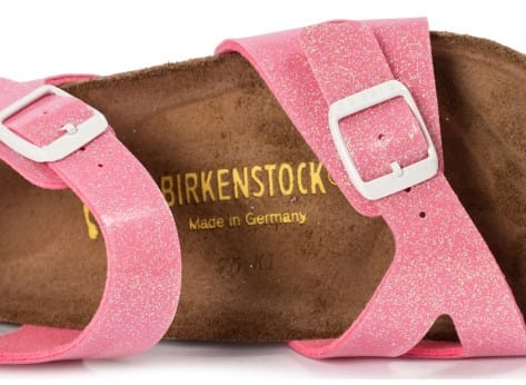 Chaussures Birkenstock Rio Junior Magic Galaxy rose vue dessus