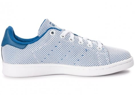 Chaussures adidas Stan Smith Adicolor Summer bleue vue dessous