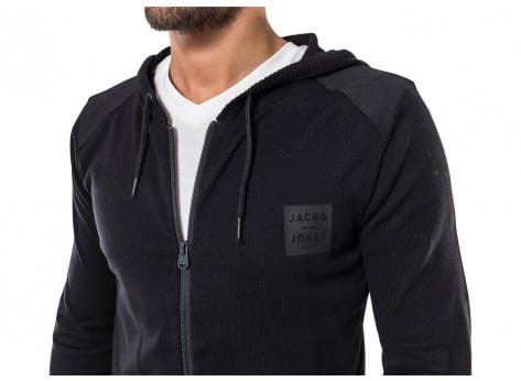 Sweat Jack & Jones Veste Payton noire