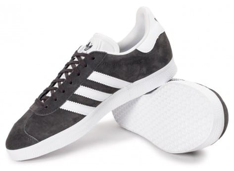 Chaussures adidas Gazelle Anthracite vue intérieure